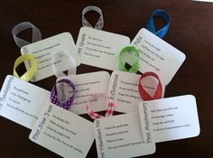 Personalized Wine Poem Tags: Bridal Shower/Wedding