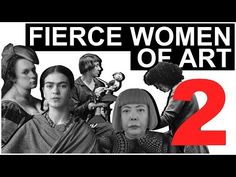 The Art Assignment: Our first video on fierce women artists didn't even begin to cover the volume of interesting and boundary-pushing work made by women, so we had to make another. This week we talk about the incredible Artemisia Gentileschi, Mona Hatoum, Yayoi Kusama, Art History Lessons, Art Lessons, History Memes, High School Art, Middle School Art, Hannah Höch, Artemisia Gentileschi, Art Education Resources