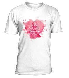 World Cancer Day t-shirts  2017