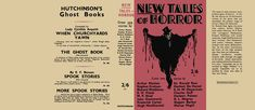 New Tales of Horror. Anthology.