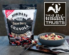 To celebrate the launch of the Jordans Farm Partnership, Jordan's are giving away 10 hampers of their tasty granolas to readers of the Wildlife Trusts Free Competitions, Hamper, Granola, Acai Bowl, Oatmeal, Berries, Tasty, Magic, Breakfast
