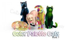 Color Palette Cats Part 1 - Sims 3 Downloads CC Caboodle
