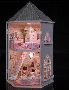10 lindas casas de muñecas para tu pequeña
