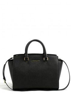 Michael Kors-selma large satchel bag-borsa nera selma large-Michael Kors  2014 shop online e258b701523