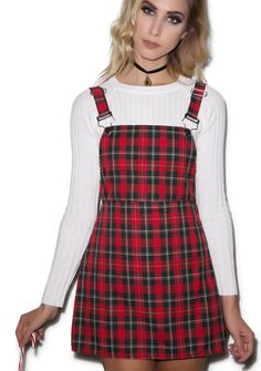 Teen Spirit Plaid Dress | Dolls Kill