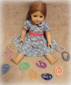 Dollie and Me Party Pack  Choose Your Colors  by FuzzlesBandStand