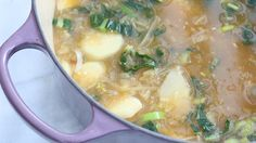 Candice Kumai's Day-Off Diet Cleansing Parsnip and Leek Soup | The Dr. Oz Show