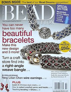 087 Bead & Button Magazine, 2008 October, #87 (Used) at Sova-Enterprises.com