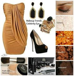 Can't get enough of this Fall look For going out on the town! Don't forget your 3D Fiber Lash mascara too! : fablashesbyjamie.com