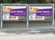 Ahmet Kırmızı Eğitim Kurumları Billboard tasarımı2