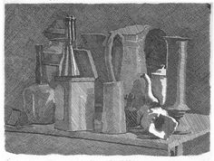 "Giorgio Morandi ""still life with coffeepot""(1933) by omolo.com, via Flickr"