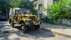 """""""Fabricat in Romania"""" Old Jeep, Jeep 4x4, Old Cars, Romania, Cars Motorcycles, Antique Cars, Monster Trucks, Pure Products, Vehicles"""
