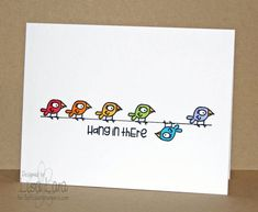 DTGD12Ardyth HANG IN THERE by lisa lara - Cards and Paper Crafts at Splitcoaststampers