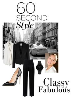 """60sec style"" by tiwik on Polyvore featuring Vince Camuto, DKNY, Lanvin and CLUSE"