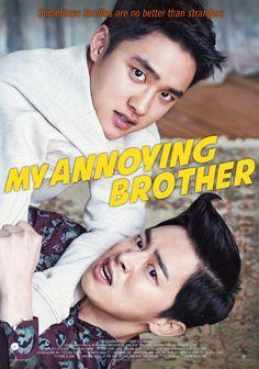My annoying brother Hyung Korean movie D. (EXO do kyungsoo) and Jo Jung-suk Dramas Online, Movies Online, My Annoying Brother, Oh My Ghostess, Exo, Kdrama, Cho Jung Seok, Korean Drama Movies, Korean Dramas
