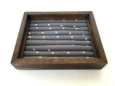 Large Choose Your Own Fabric Stud Earring/Ring Organizer, Stud Earring Holder, Earring Organizer, Home Decor, Jewelry Display by JMKPracticalDesigns on Etsy