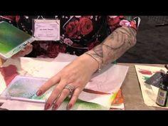 Dyan Reaveley - Ink Spray Pad Techniques - CHA Winter 2014
