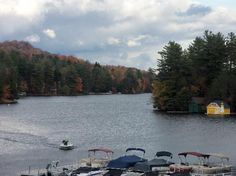 Old Forge, NY:   The Pond...the start of the Fulton Chain of Lakes