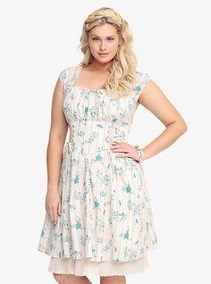 Disney Cinderella Ruffle Dress | Torrid - size 2