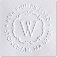 Pressed Petals - Embosser - Three Designing Women in White. #office
