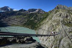 Triftbrücke – Wanderhighlight im Gadmertal – Linas Travelblog Mount Everest, Mountains, Nature, Travel, Mountain Range, Communities Unit, River, Naturaleza, Voyage