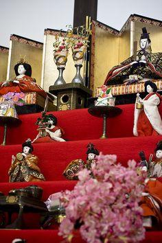 Hina-Ningyou :japanese doll for the Japanese Girl's festival: Hina-Matsuri