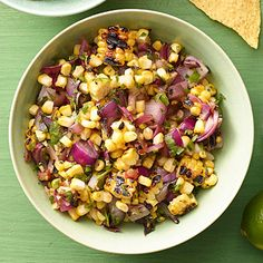 Charred Corn Salsa