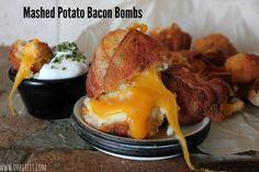 ~Mashed Potato Bacon Bombs! – Oh Bite It