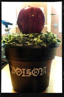 Poison Apple decorative pot.