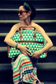 + Pyramid Weekender Bag