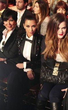 The Kardashian's and Chris Jenner (soon to be a Kardashian again!)....x