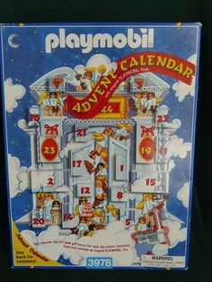 "Playmobil Christmas Advent Calendar 3978 ""Santa's Bakery"" Used #PLAYMOBIL"