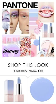 """""""Pantone Beauty: Rose Quartz and Serenity"""" by maris-go-round ❤ liked on Polyvore featuring beauty, Sephora Collection, Stila and pantonebeauty"""