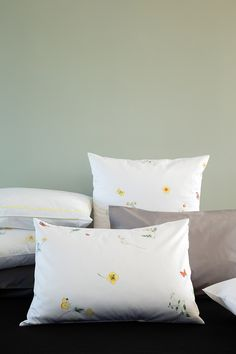 POETICA, Christian Fischbacher fine satin bed linen from Switzerland, printed by master craftsman in a 12-screen-printing process