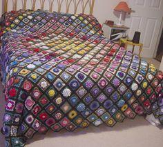 Ravelry: jenn1feranne's 3D floral bedspread