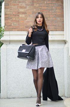 AngelsWearHeels.com | Fashion blogger | Una cheerleader firmata Pinko #pinko #marni #chanel #outfit #zara