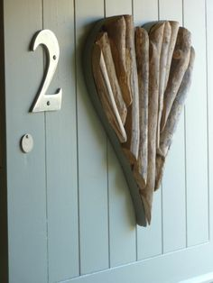 Our door at Lavender Cottage