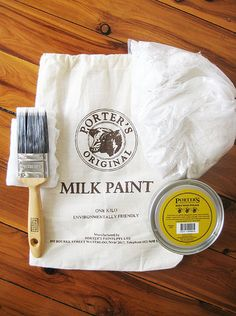 ish and chi: Milk paint- interior design, decorating and style ideas