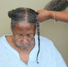 This Picture Of A Grandmother Getting Her Hair Done Is All Over Instagram And We Understand Why  Read the article here - http://www.blackhairinformation.com/general-articles/opinion/general-opinion/picture-grandmother-getting-hair-done-instagram-understand/