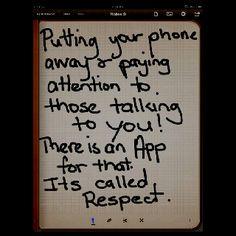 Respect App :-)