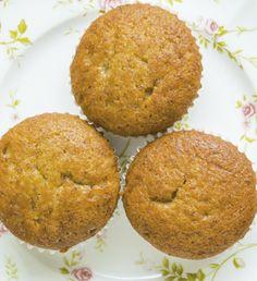 Veja receita de Muffin de banana