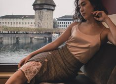 "Combination and skirt from new family brand ""SKIN"" Family Brand, Backless, One Shoulder, Blouse, Skirts, Tops, Dresses, Design, Women"