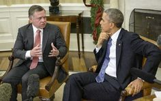"""Jordan's King Abdullah II warned Friday that the fight against Islamic State militants is a """"third world war,"""" as President Barack Obama pledged a sizable US aid increase to his country. As the two men met at the White House, Obama promised to increase US aid to Jordan from $660 million to more than $1 billion per year."""