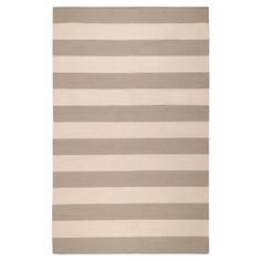 Boldly+striped+wool+rug.+Hand-woven+in+India.+  Product:+RugConstruction+Material:+WoolColor:+Par...
