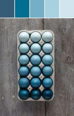 10 Palettes | Easter Egg Color Inspiration #stylyze
