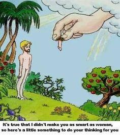 #god #willy #penis #men #women #life #funny #sexjokes #funnylacenleather