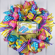 Check out this item in my Etsy shop https://www.etsy.com/listing/582958760/spring-wreath-for-front-door-summer