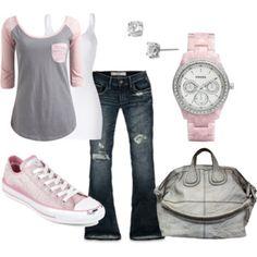 Pink + Chucks = <3
