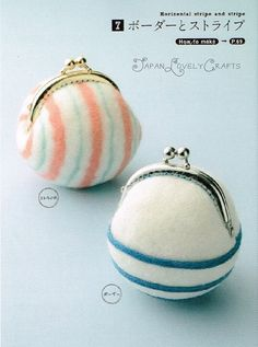 Handmade Clasp Coin Purse & Pouch Nobuko by JapanLovelyCrafts