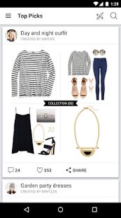 Polyvore Style: Fashion to Buy - μικρογραφία στιγμιότυπου οθόνης
